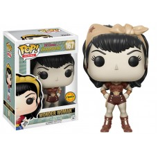 Limited Chase Edition Funko Pop! Heroes 167 DC Comics Bombshells Wonder Woman Pop Vinyl Action Figure FU12853